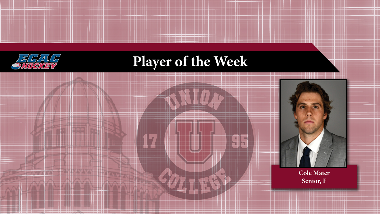 Maier named Player of the Week